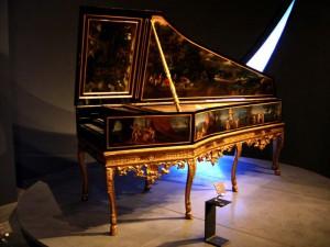 Французский клавесин XVII века