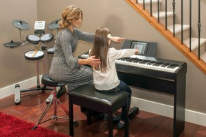 Занятия на цифровом фортепиано