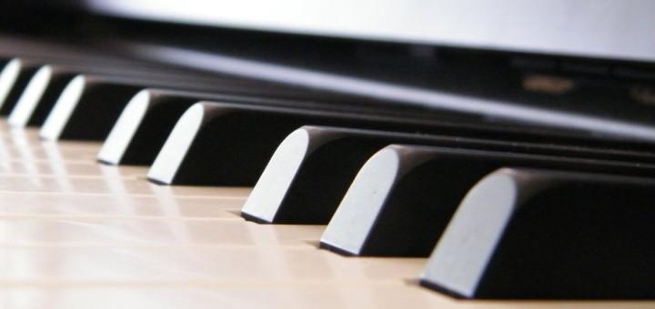 Клавиши цифрового фортепиано
